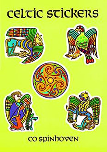 9780486288819: Celtic Stickers: 24 Full-Color Pressure-Sensitive Designs (Dover Stickers)