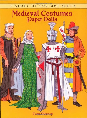 9780486289250: Medieval Costumes Paper Dolls (Dover Paper Dolls)