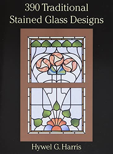 9780486289649: 390 Traditional Stained Glass Designs (Dover Stained Glass Instruction)