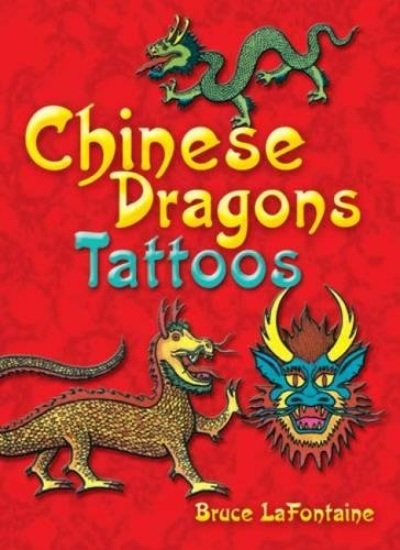 9780486289823: Chinese Dragons Tattoos (Dover Tattoos)