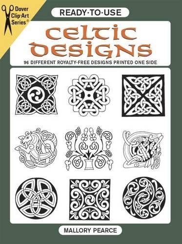 READY-TO-USE CELTIC DESIGNS (96 copyright-free designs printed on one side)