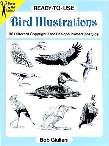 9780486290225: Ready-to-Use Bird Illustrations: 98 Different Copyright-Free Designs Printed One Side (Clip Art Series)
