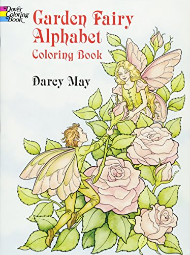 9780486290249: Garden Fairy Alphabet Coloring Book