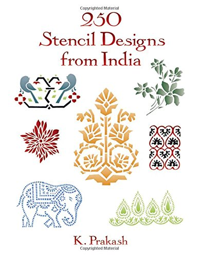 9780486290263: 250 Stencil Designs from India (Dover Pictorial Archive)