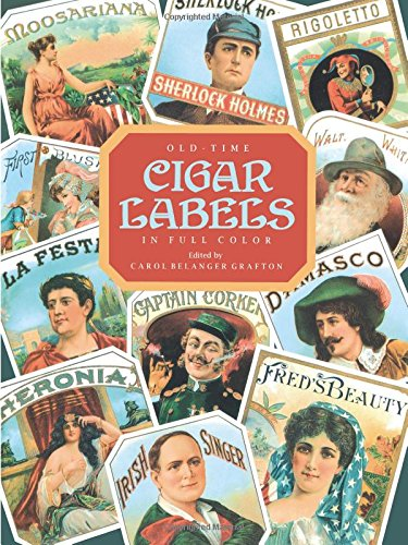 9780486290522: Old Time Cigar Labels (Dover Pictorial Archives)