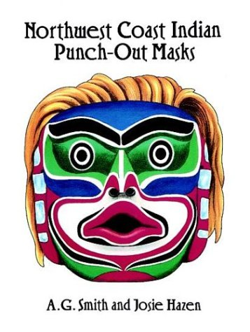 9780486290553: Northwest Coast Indian Punch-Out Masks