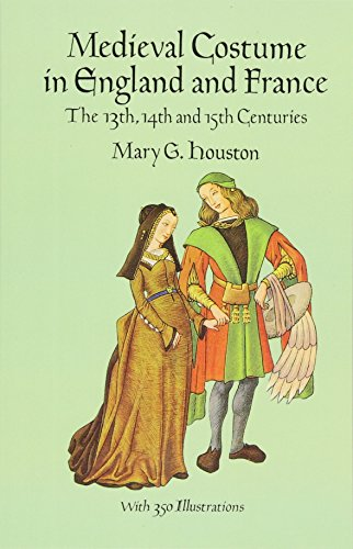 9780486290607: Medieval Costume in England and France: The 13th, 14th and 15th Centuries