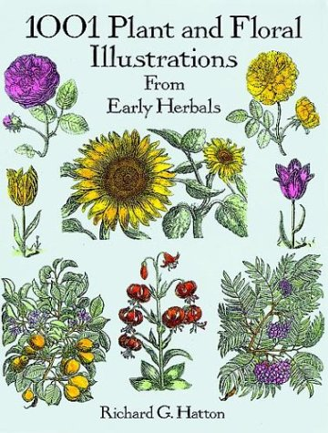 9780486290744: 1001 Plant and Floral Illustrations from Early Herbals