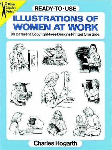 9780486290751: Ready-to-Use Illustrations of Women at Work: 96 Copyright-Free Designs Printed One Side (Dover Clip Art Ready-to-Use)