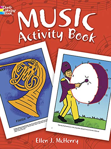 9780486290799: Music Activity Book (Dover Coloring Books)