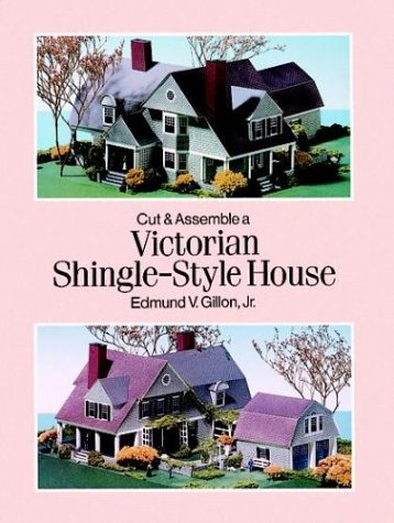9780486290829: Cut and Assemble a Victorian Shingle-Style House