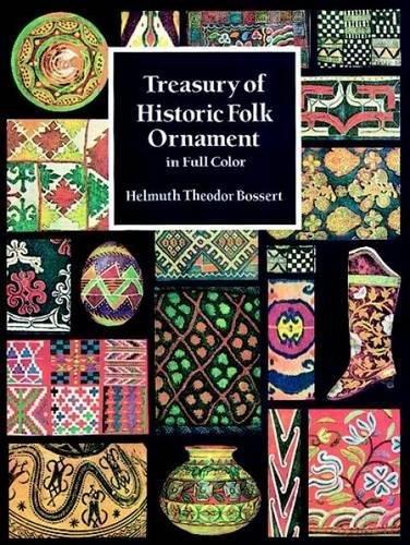 Treasury of Historic Folk Ornament in Full