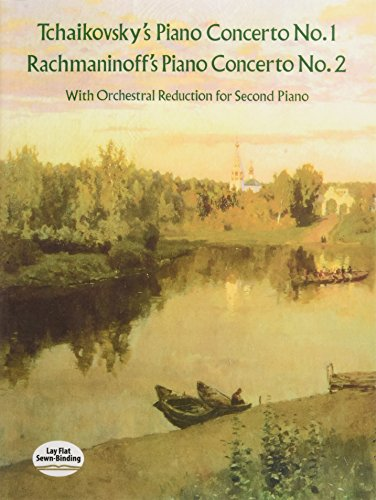 9780486291147: Tchaikovsky's Piano Concerto No. 1 & Rachmaninoff's Piano Concerto No. 2: With Orchestral Reduction for Second Piano