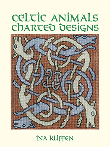 CELTIC ANIMALS CHARTED DESIGN (43 designs; 16 how-to diagrams)