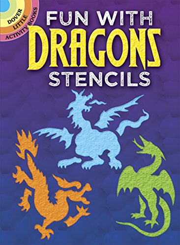 9780486291338: Fun with Dragons Stencils (Dover Stencils)