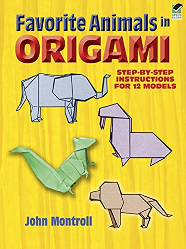 9780486291369: Favorite Animals in Origami (Dover Origami Papercraft)