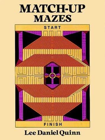 9780486291635: Match-Up Mazes
