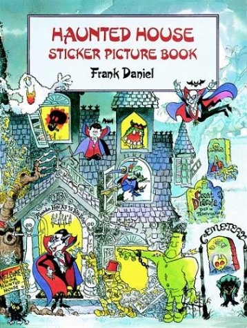 9780486291833: Haunted House sticker picture book
