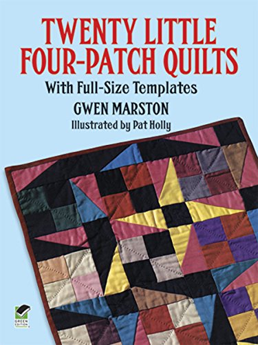 9780486291840: Twenty Little Four-Patch Quilts: With Full-Size Templates (Dover Quilting)