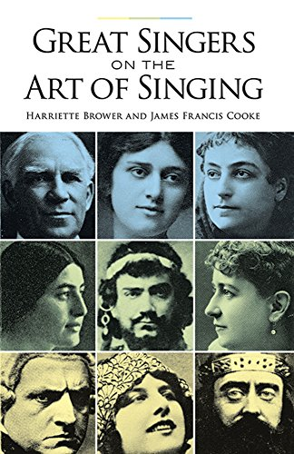 9780486291901: Great Singers on the Art of Singing (Dover Books on Music)