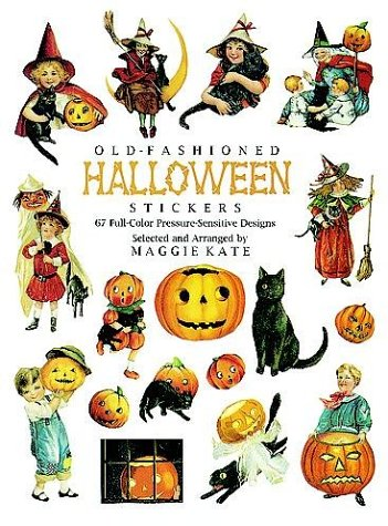9780486291956: Old-Fashioned Halloween Stickers: 67 Full-Color Pressure-Sensitive Designs (Dover Stickers)