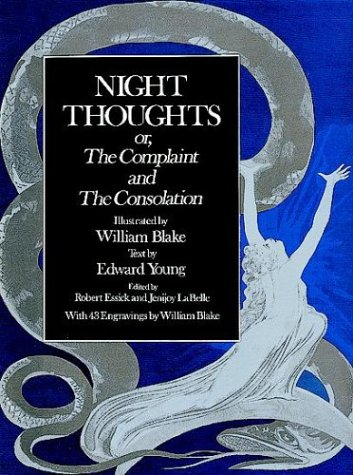 9780486292144: Night Thoughts: Or, the Complaint and the Consolation
