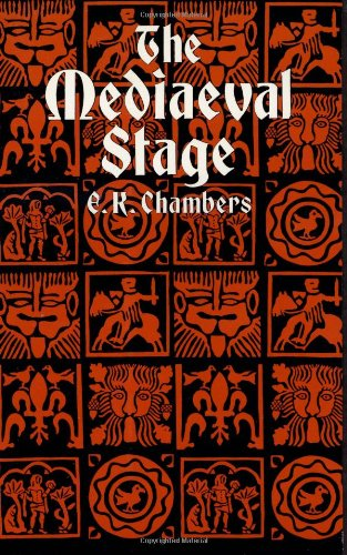 9780486292298: 1-2: The Mediaeval Stage (Dover Books on Literature and Drama)