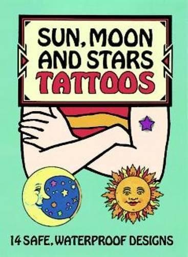 9780486292519: Sun, Moon and Stars Tattoos (Dover Tattoos)