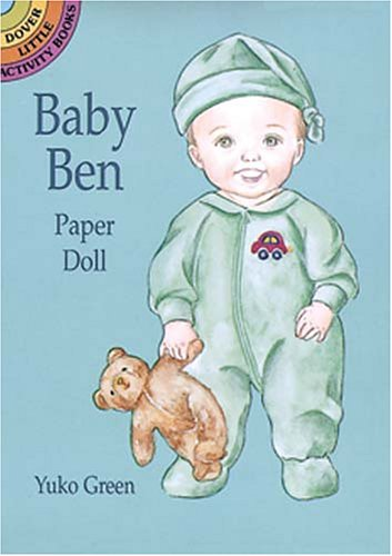 Baby Ben Paper Doll: Green, Yuko