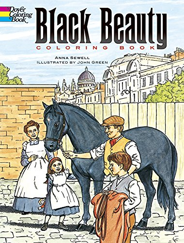9780486292724: Black Beauty Coloring Book