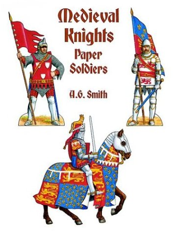 9780486292922: Medieval Knights Paper Soldiers
