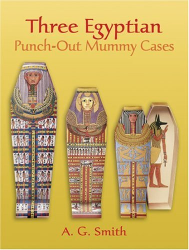9780486292939: Three Egyptian : Punch-Out Mummy Cases (Punch-Out Paper Toys) (Dover Children's Activity Books)