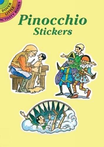 9780486293172: Pinocchio Stickers (Dover Little Activity Books Stickers)