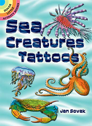 Sea Creatures Tattoos (Paperback): Jan Sovak