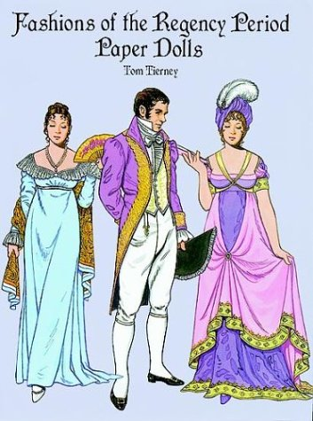 9780486293356: Fashions of the Regency Period Paper Dolls
