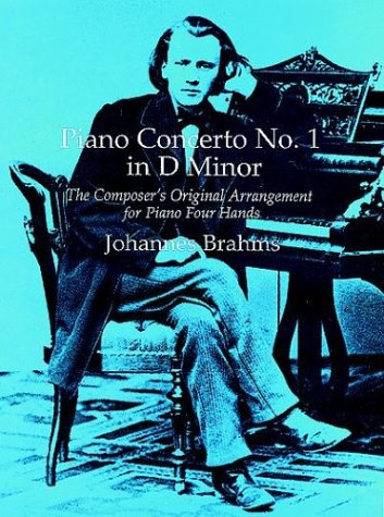 9780486293363: Piano Concerto No.1 in D Minor: The Composer's Original Arrangement for Piano in Four Hands