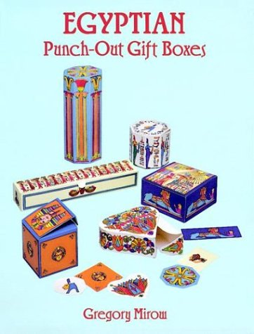 9780486293394: Egyptian Punch-Out Gift Boxes: Six Boxes with Matching Gift Tags