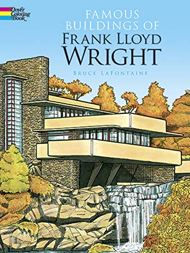 9780486293622: Famous Buildings of Frank Lloyd Wright (Dover History Coloring Book)