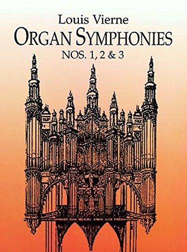 Dover Music for Organ Organ Symphonies Nos: Louis Vierne