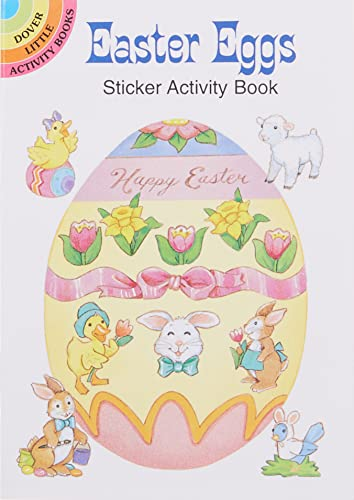 9780486294087: Easter Eggs Sticker Activity Book (Dover Little Activity Books Stickers)