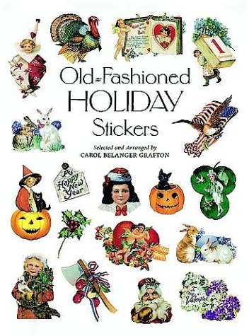 9780486294421: Old-Fashioned Holiday Stickers