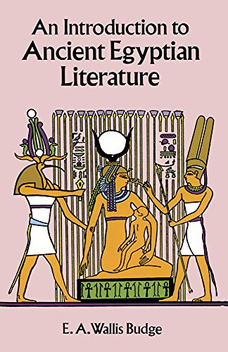 9780486295022: An Introduction to Ancient Egyptian Literature