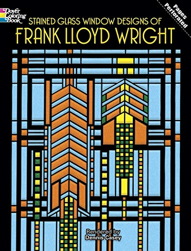 9780486295169: Stained Glass Window Designs of Frank Lloyd Wright