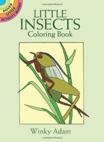 9780486295282: Little Insects Coloring Book (Dover Little Activity Books)