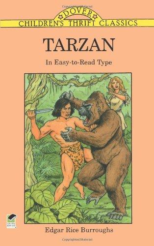 9780486295305: Tarzan: In Easy-to-Read Type (Children's Thrift Classics)