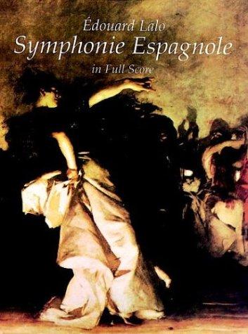 9780486295329: Symphonie Espagnole in Full Score