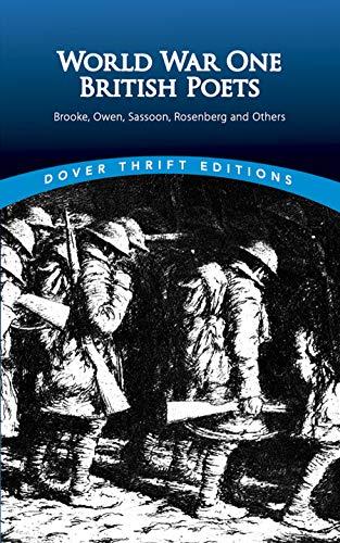 9780486295688: World War One British Poets: Brooke, Owen, Sassoon, Rosenberg, and Others