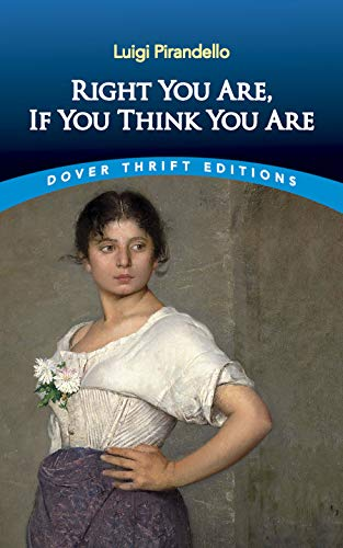 9780486295763: Right You Are, If You Think You Are (Dover Thrift Editions)