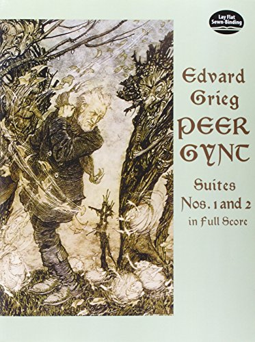 9780486295824: Peer Gynt Suites Nos. 1 and 2 (Dover Music Scores)