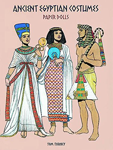 9780486295855: Ancient Egyptian Costumes Paper Dolls (Dover Paper Dolls)